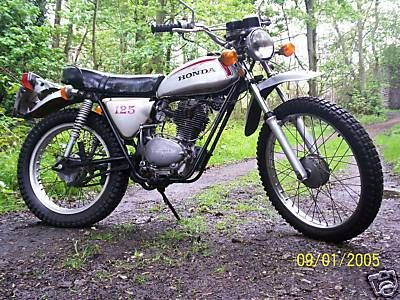 "1972 Honda SL125...my ""growing up"" bike..."
