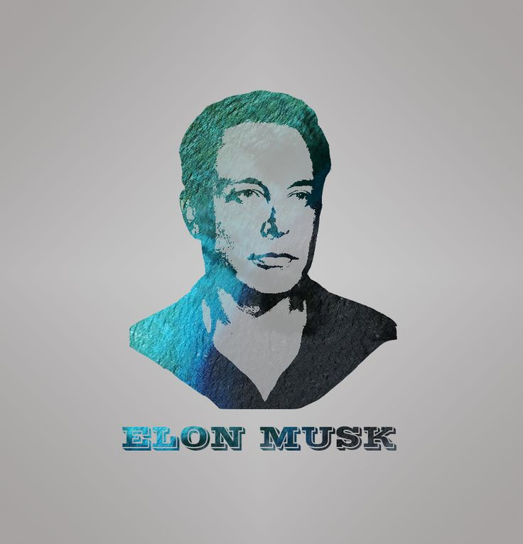 The Man Who Inspire me About Technology. #Elon Musk #Just Practicing Digital Illustration.