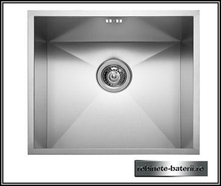 Chiuveta bucatarie Tetra 49 x 44 cm din inox profesional |