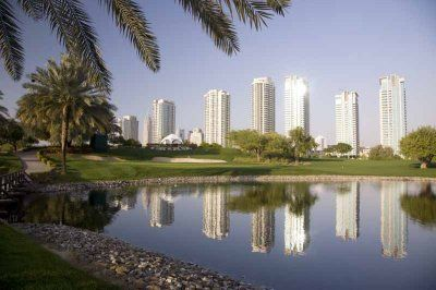 Golf Course Emirates Golf Club - Majalis in Dubai - From Golf Escapes