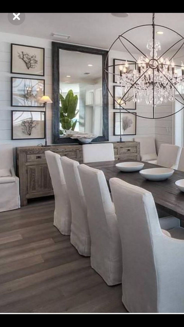23 Dining Room Decoration Ideas in 2020 | Dining room wall ...