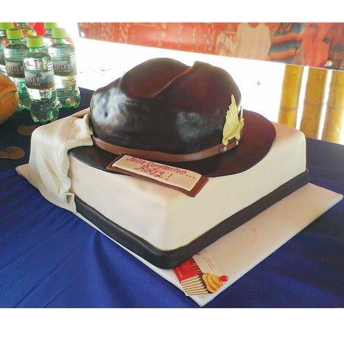 Torta fiesta colombiana, sombrero boyaco