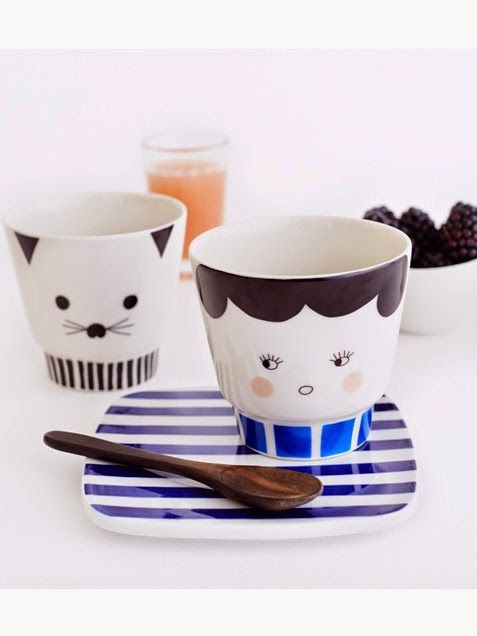 These little characters will liven up your morning routine, from Mayer Lavigne. #abitofacharater #kitchen