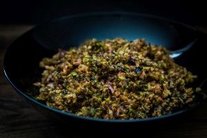 skinnymixer's Bacon & Brussels sprouts - skinnymixers