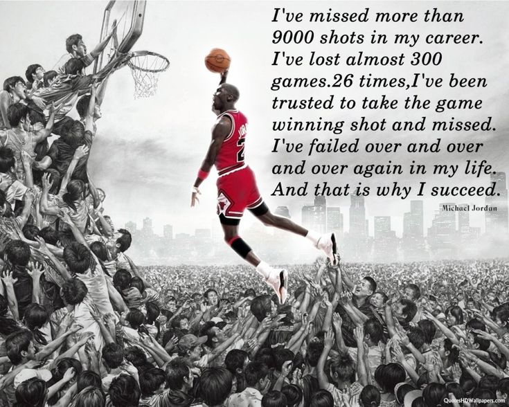 Sports Quote - Michael Jordan  Go to MuscleandMotion.com to download the free version of the 3D Muscle Anatomy & Strength Training Video Program – uniquely designed for Students, Personal Trainers, Therapists, Athletes, and Teachers.