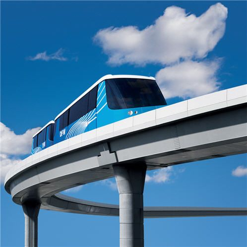 Dallas DFW Airport SkyLink train