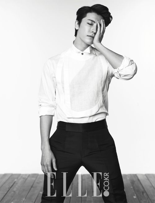 Dong Hae - Elle Magazine July Issue '14