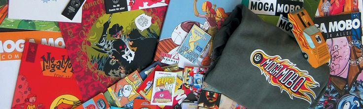 MOGA MOBO wurde 1994 als Umsonst-Comicmagazin ohne finanzielle Interessen gegründet. Mittlerweile umfasst Moga Mobo Comic Hefte, Ausstellungen, Workshops und eine Menge anderer Dinge. Das Heft erscheint unregelmässig und ändert jedes mal Thema und Format. Seit Beginn wurden über 100 Ausgaben publiziert und über 2 000 000 Hefte umsonst verteilt. In den letzten Jahren sind die Projekte grösser und internationaler geworden. Oft in Zusammenarbeit mit dem Goethe-Institut. So realisierten wir 2006…