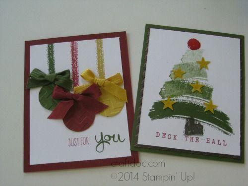 CRAFTDOC » Blog Archive » Stampin' Up! Convention Bound Art of Life stamp set - from our display board #inspirecreateshare