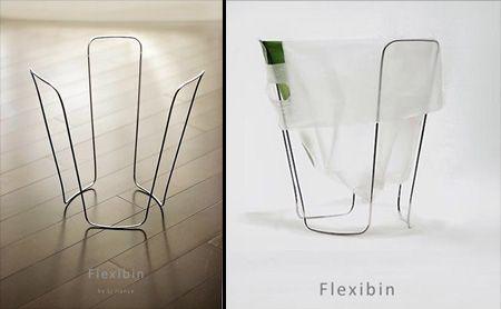 Flexibin  cool idea for a bathroom!