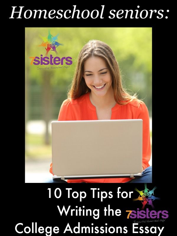 College admissions essay tips