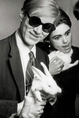 Billedresultat for warhol rabbit