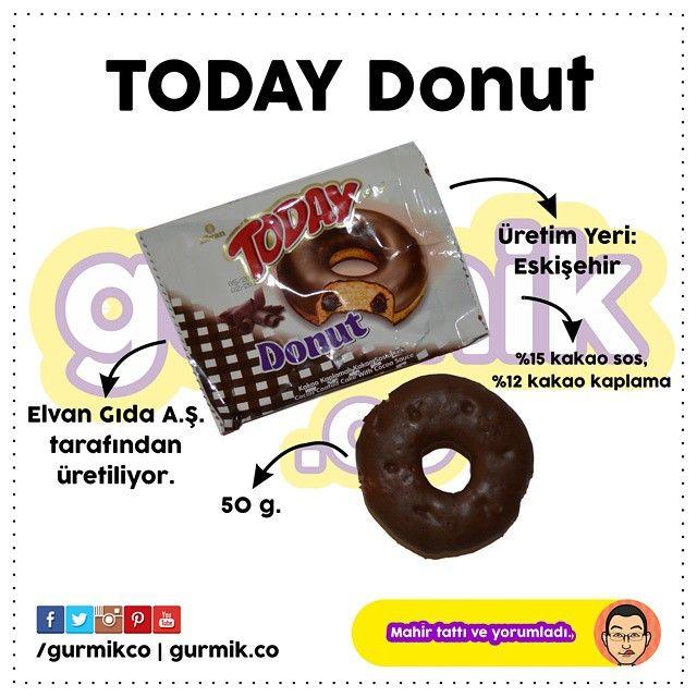 Eskişehir'e dünyanın en uzun kruvasan üretim hattını kuran Elvan Gıda'nın markası Today… Bu adla üretilen #Donut kekin kakao kaplaması (%12) tatmin edici… Soran arkadaşlara cevabım: Bu ürünü bulmanız...