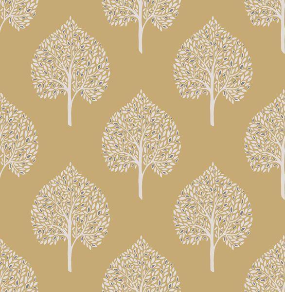 Grove Mustard Tree Nuwallpaper Peel And Stick Wallpaper Wallpaper