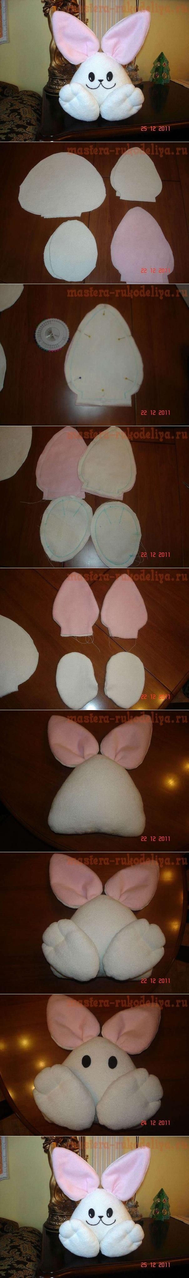 DIY Simple Fabric Bunny DIY Projects | UsefulDIY.com