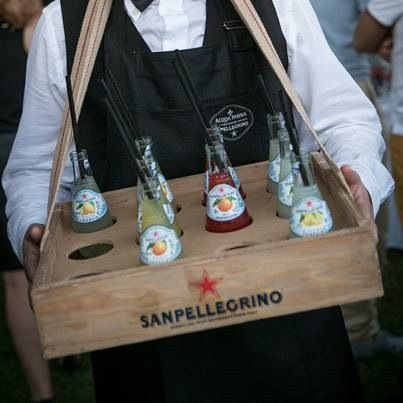 San Pellegrino.. now wouldn't this be fun at a ball game.. San Pellegrino Heeeeerrrreee..