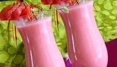 Surinaams eten – Cherry Strawberry Smoothie (gezonde en frisse cherry smoothie met banaan en aardbei)