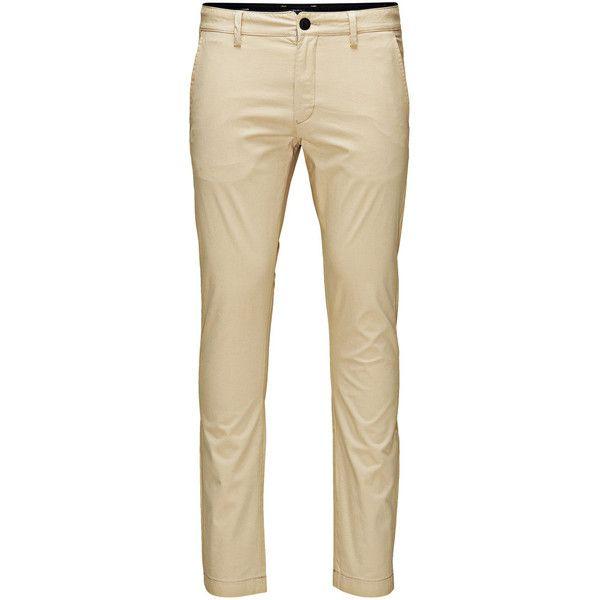 GLENN OWEN WHITE PEPPER CHINOS Jack Jones ($59) ❤ liked on Polyvore featuring men's fashion, men's clothing, men's pants, men's casual pants, men, mens skinny fit dress pants, mens skinny chino pants, mens pants, mens zip off pants and mens slim fit pants