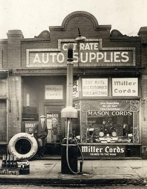 .Vintage Auto Parts Shop.