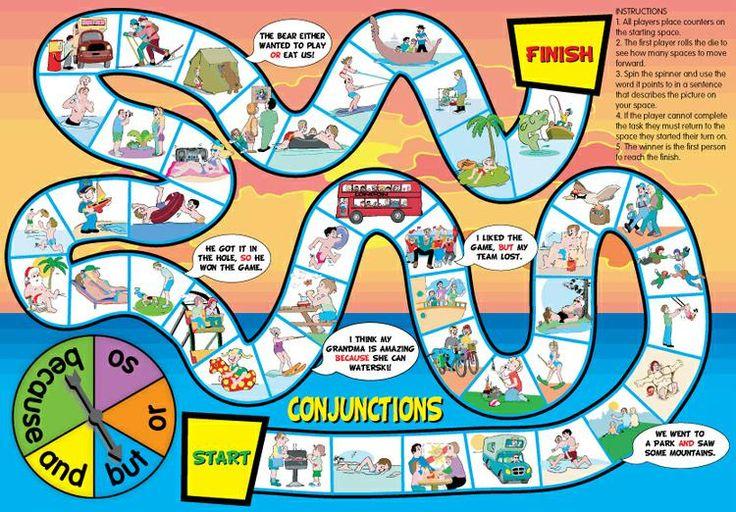 prepositions game board Google Search Board games, The