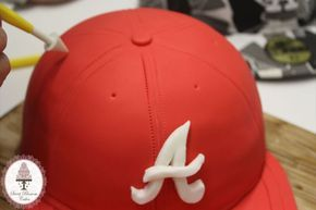 New Era Cap Cake Tutorial - by Sweet Blossom Cakes @ CakesDeco