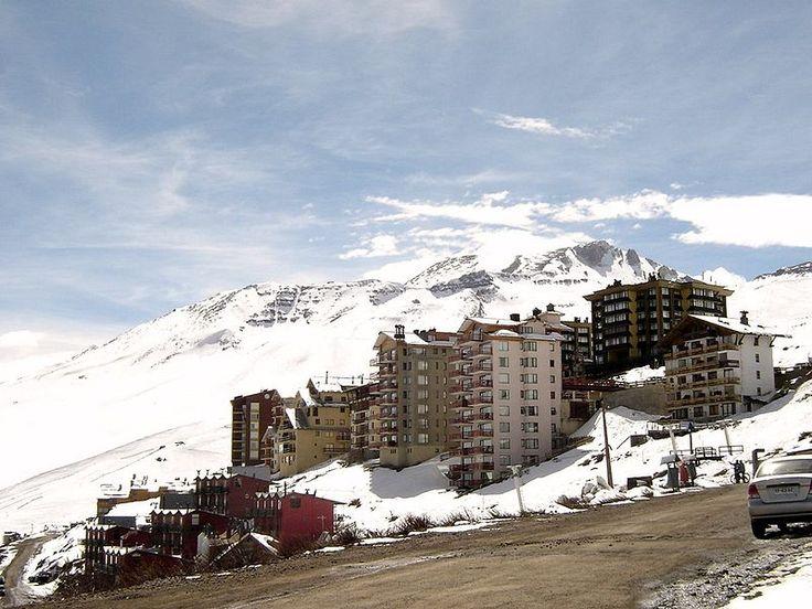 El Colorado Ski Center, Santiago, Chile.