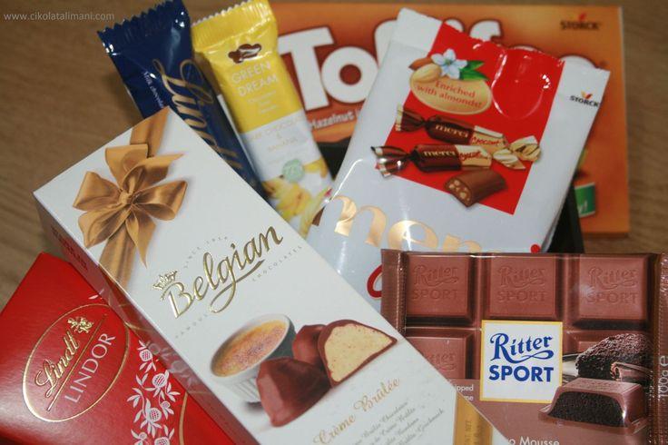 """""""Mutlu yıllar, iyi ki doğdun"""" demek için en lezzetli yol   Doğum Günü Çikolata Paketi Mini ile 7 farklı Avrupa çikolatası kargo dahil sadece 55 TL  www.cikolatalimani.com"""