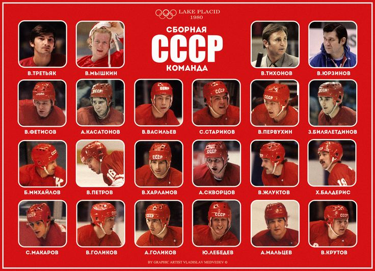 The USSR team at the Olympiad-80.