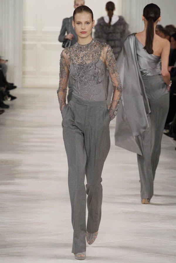 Bien-aimé Oltre 25 fantastiche idee su Completo pantalone donna su Pinterest  HR31