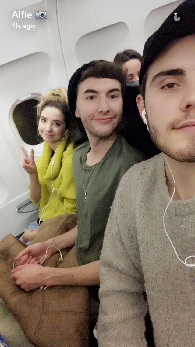 Alfie, Mark and Zoe