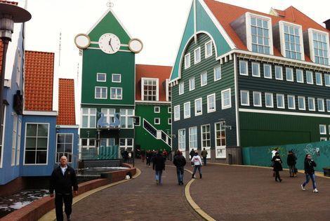 Wandelen in Zaandam: Kersvers centrum (ca. 3,5 km)