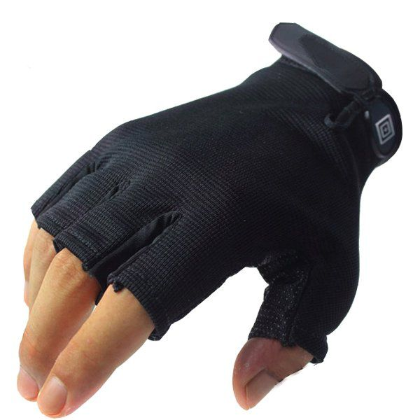 High speed flexible dry skid Mens half secret cycling gloves CS field protective gloves #Affiliate
