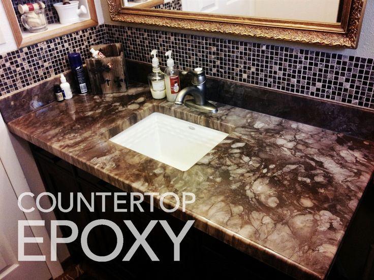 Photos of beautiful, seamless Epoxy Countertops | Boomtown ...