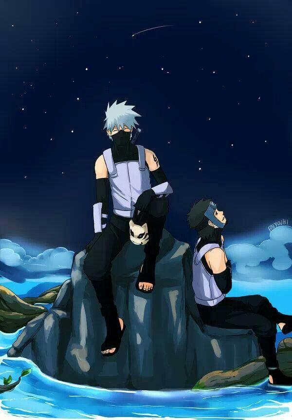 Yamato  Kakashi (anbu black ops version) From #Naruto