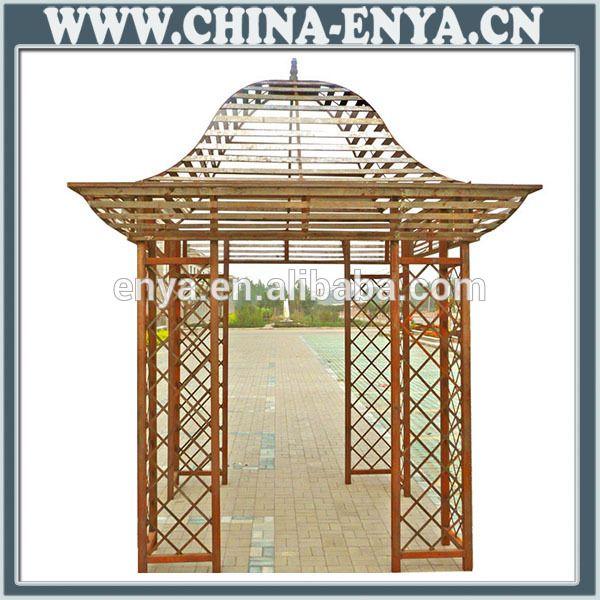 High high quality bamboo garden gazebo