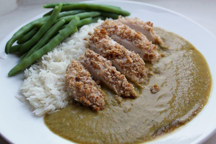 Chicken katsu curry - Slimming World friendly