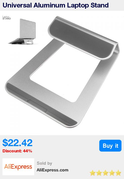 Universal Aluminum Laptop Stand Tablet Dock Holder Bracket for Apple Macbook Air Pro For 11 - 15 Inch PC Laptop Notebook * Pub Date: 12:07 Sep 20 2017