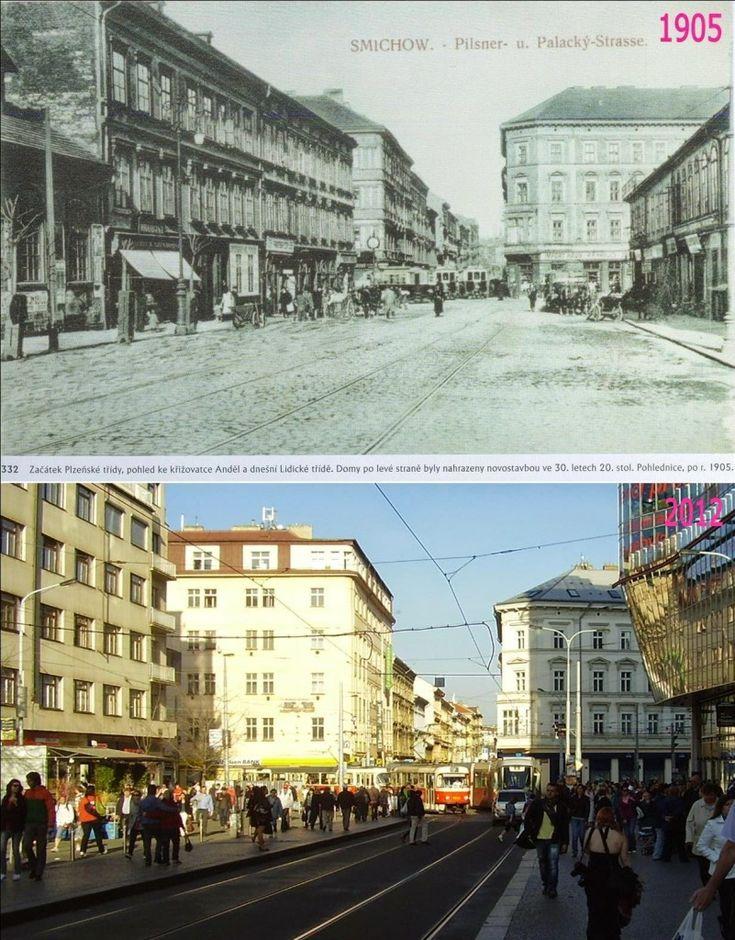 Smíchov, Anděl – Foto a koláž: Václav Víšek
