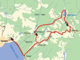 Карты туристических маршрутов