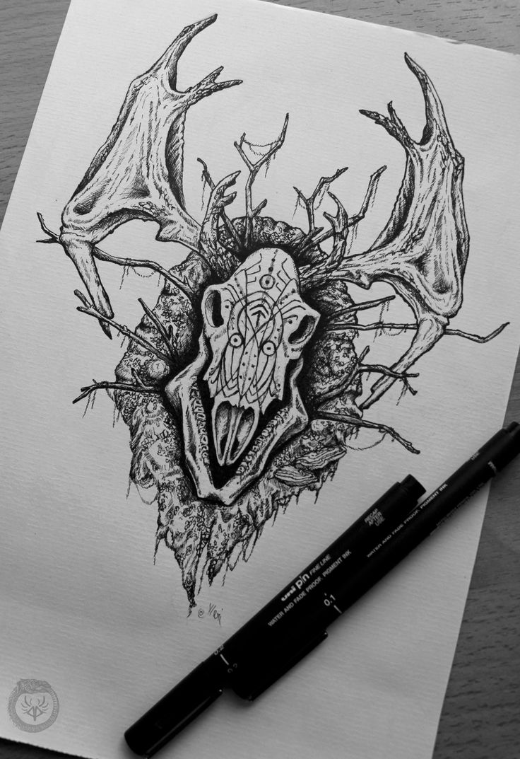 Leshen, Lord of the woods Witcher fanart