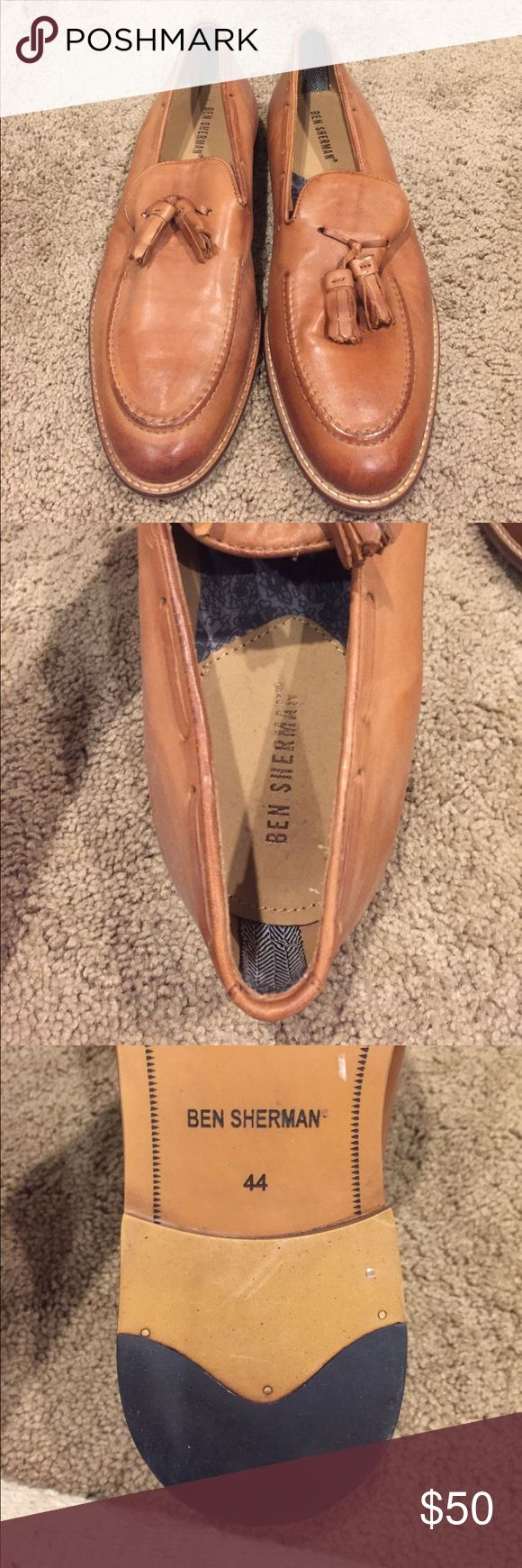 Ben Sherman Brown leather loafers Ben Sherman leather loafers worn once! Size 44 Ben Sherman Shoes Loafers & Slip-Ons