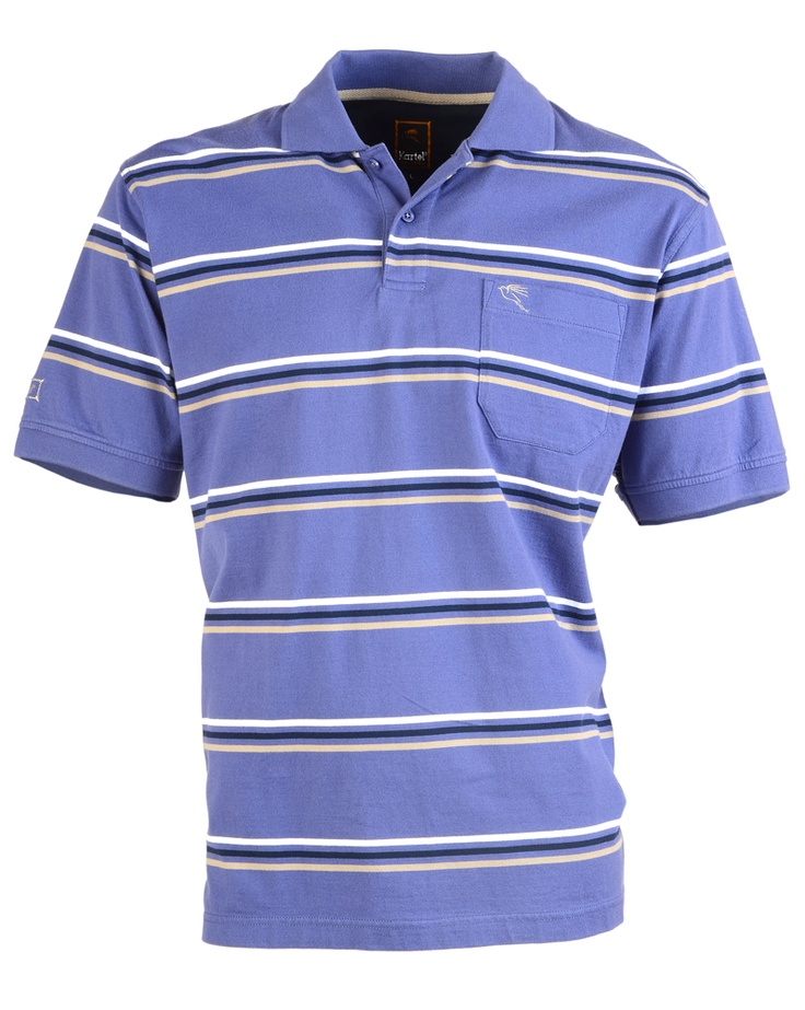 $60 Mante in Skipper Mens Short Sleeved Polo Shirt: 100% Cotto