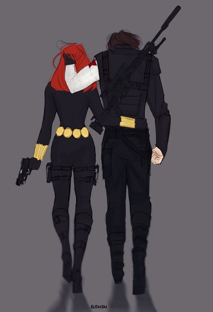 I don't ship it, really, but this is kinda cute. I've always loved the possibilities of a friendship between Bucky and Nat.