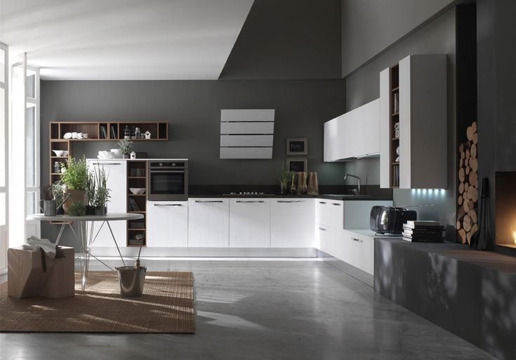 Woody, Cucina Contemporary, Forma 2000