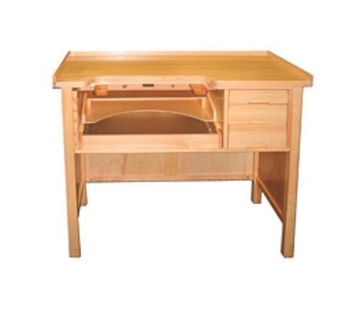 Jewelers watchmakers wooden work bench table workbench tool new wooden work bench bench and Watchmakers bench
