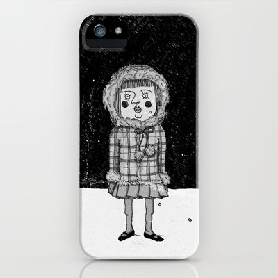 snowgirl iPhone & iPod Case by Mimi - $35.00