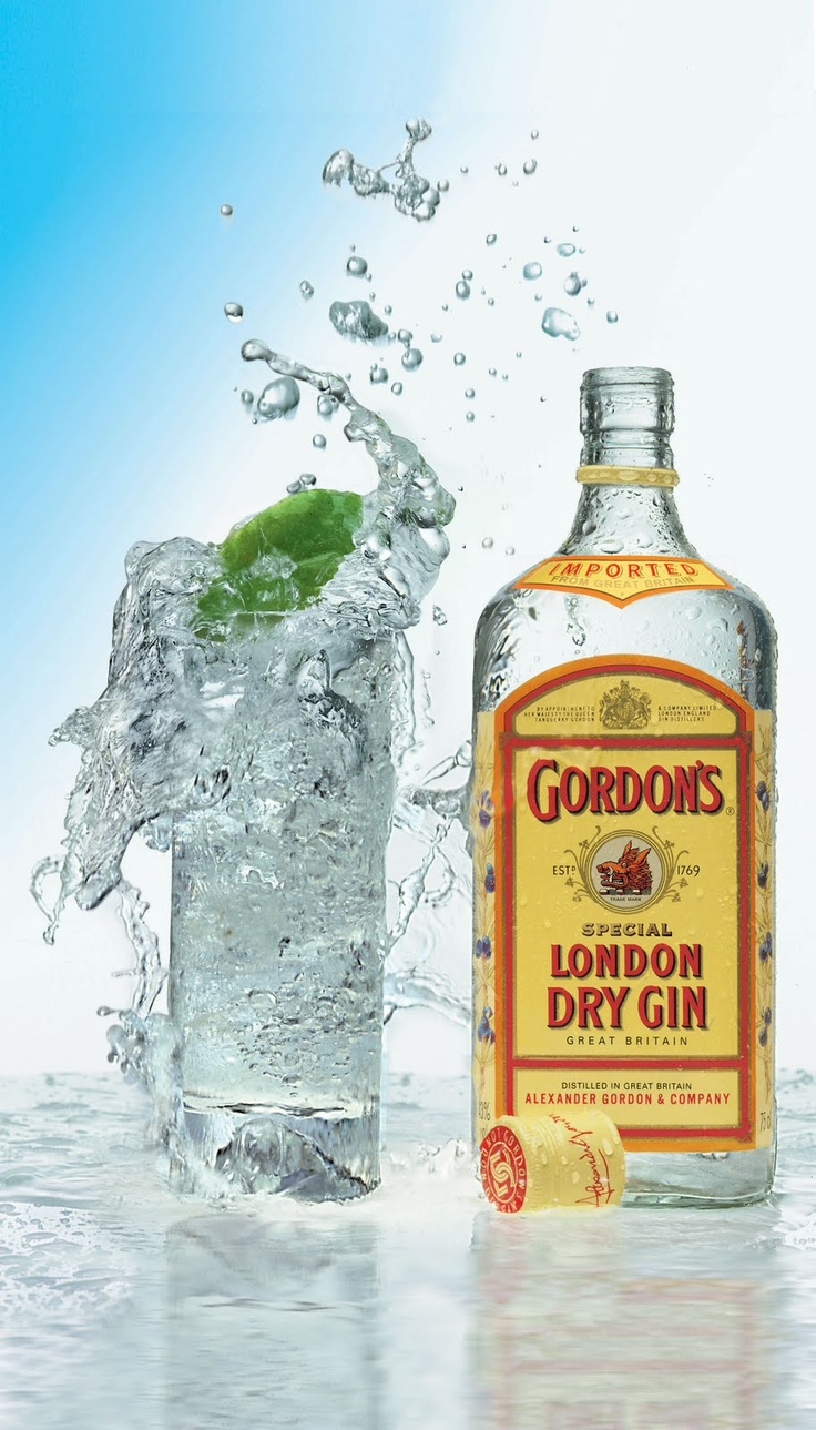 Gordon's gin .......couldn't I've without it.