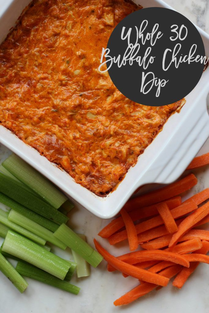 buffalo chicken dip: whole 30 approved | Life in the Green House | Bloglovin'