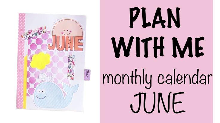 Plan with me - June ´15 calendar