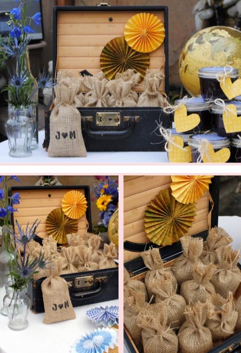 More Diy Burlap Favor Bags